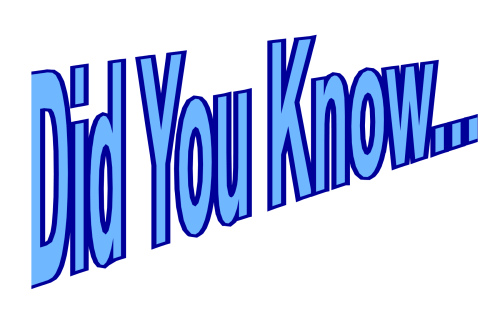 Did You Know - pause