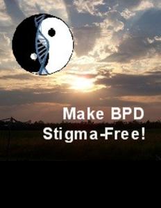 Book Cover - Make BPD Stigma-Free - sunset