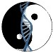 Yin-Yang DNA icon